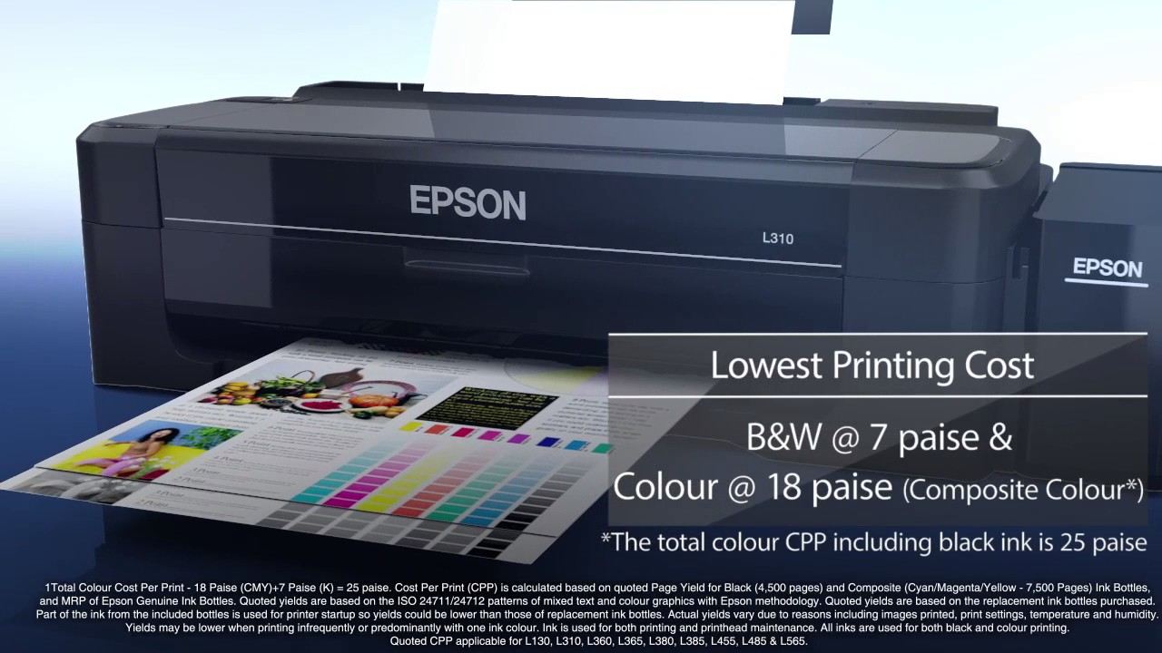 Lowest Cost Per Page Color Printer Lower Per Page Cost Than Ink