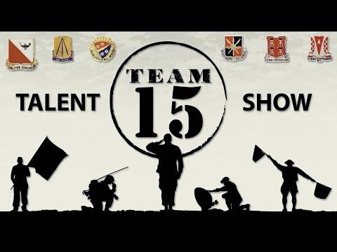 Fort Gordon Team 15 Talent Show 2014