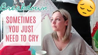 SOMETIMES YOU JUST HAVE TO CRY| Day in the Life of a Single Mom| Tres Chic Mama