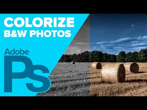 How To Colorize Black And White In Oshop