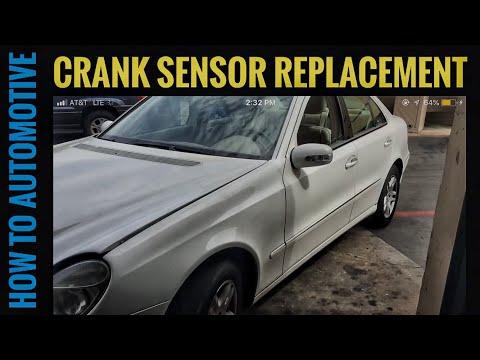 How to Replace the Crank Sensor on a 2004 Mercedes E320