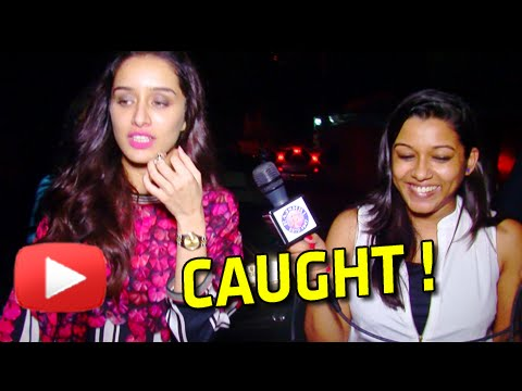 Caught!! Shraddha Kapoor Walking On The Streets | Haider Special Screening EXCLUSIVE