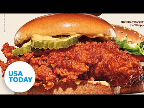 Burger King enters the fast food chicken sandwich war | USA TODAY