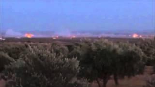 Russia Launches Cluster Bomb Attack Syria. Россия запускает кассетные бомбы в Сирии.
