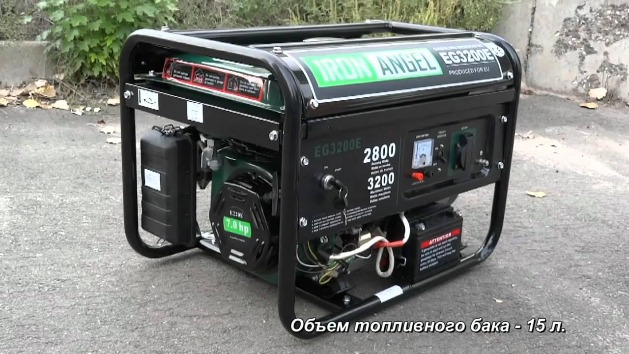 инструкция на бензиновый генератор champion eg3000mk