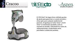 """CRACOO 2-2 Collarín de ASPEN """"VISTA CTO"""""""