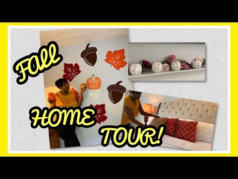 FALL HOME TOUR 2019 | DECORATE WITH ME