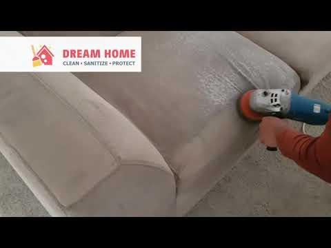How we Deep Clean Sofa - Dreamhome Cleaning Services Dubai