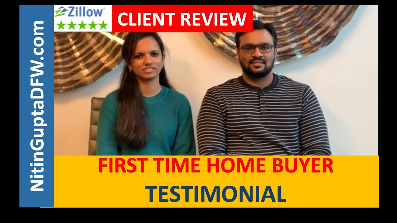 Another 5-Star video testimonial review from a home buyer client relocating to Frisco from Oklahoma