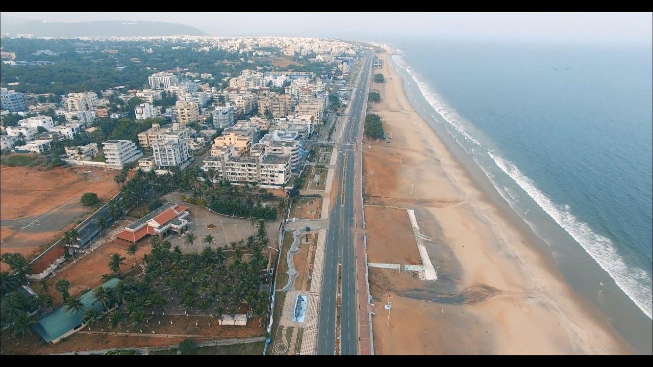 A city under Quarantine : Visakhapatnam (4K)