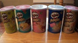 Brad Tries Japanese Pringles