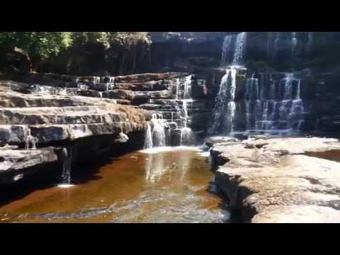 My travels: Soumba waterfall near Conakry, Guinea