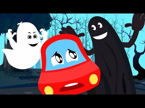 In Halloween Everything Is Scary | Little Red Car | Nursery Rhymes by Kids Channel