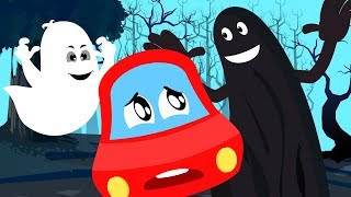 In Halloween Everything Is Scary Little Red Car Nursery Rhymes by Kids Channel