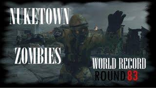 Nuketown Zombies Round 83 Solo World Record
