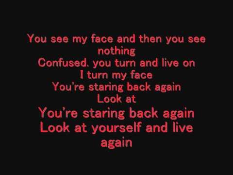 Sevendust Live again Layrics