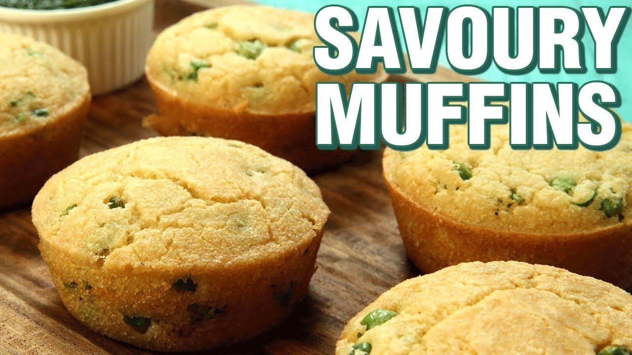 how to make vegetarian savoury muffins