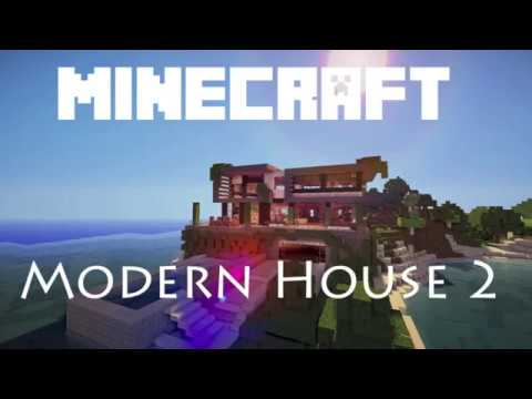 Minecraft Timelapse Modern House 2 Map Download INCREDIBLE