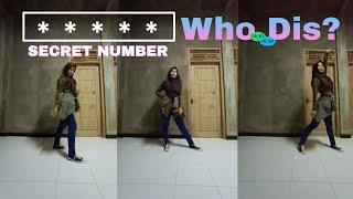 SECRET NUMBER (시크릿넘버) - Who Dis? | Dance Cover