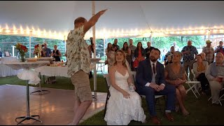 Epic Father of the Bride Speech - Funny Video - Lost the Speech!