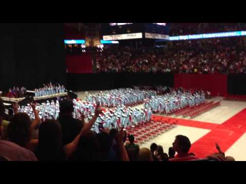 Monterey High School Graduation Class of 2013