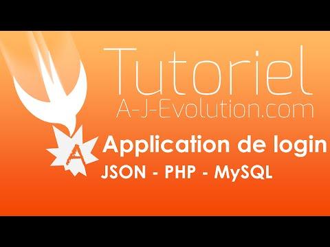 FR - Créer login en Swift COMPLET - PHP JSON MySQL Database
