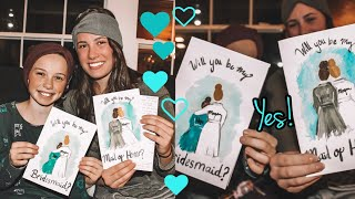 How to ask your sister to be maid of honor