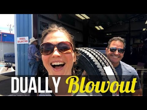 Fifth Wheel Towing: Dually Blowout // Jerome, Arizona