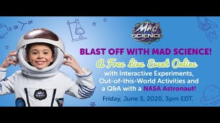 Mad Science Astronaut Event