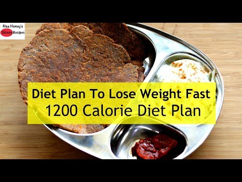 1200 Calorie Diet Plan To Lose Weight Fast – Full Day Meal Plan For Weight Loss | Skinny Recipes