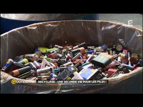 Recyclage : une seconde vie pour les piles ?