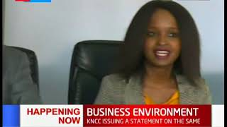 KNCCI President, Ngatia issues statement on the state of running a Business in Kenya