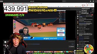 We Got RAIDED by KREEKCRAFT et JOSHPLAYSROBLOX at the SAME TIME! (w/ Chat Réaction)