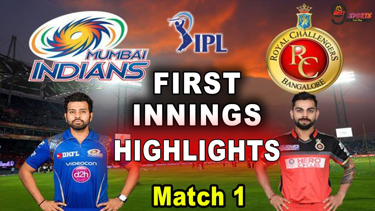 RCB VS MI FIRST INNINGS HIGHLIGHTS | Mumbai Vs Bangalore Match 1 | IPL 2021 | #RCBVSMI