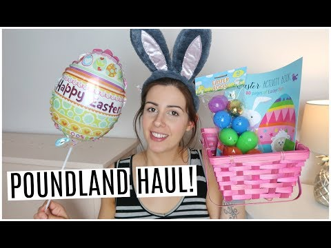 POUNDLAND EASTER HAUL & DAY IN THE LIFE OF A PREGNANT MUM! | KERRY CONWAY