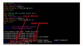 comment configurer DNS en Cent OS (linux) darija
