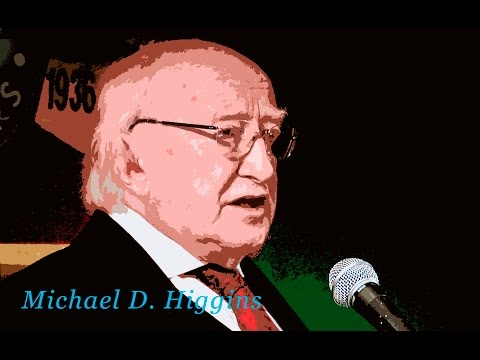 President of Ireland, Michael D. Higgins - 'The International Brigades'