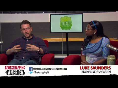 Luke Saunders of Farmer's Fridge | Bootstrapping in America