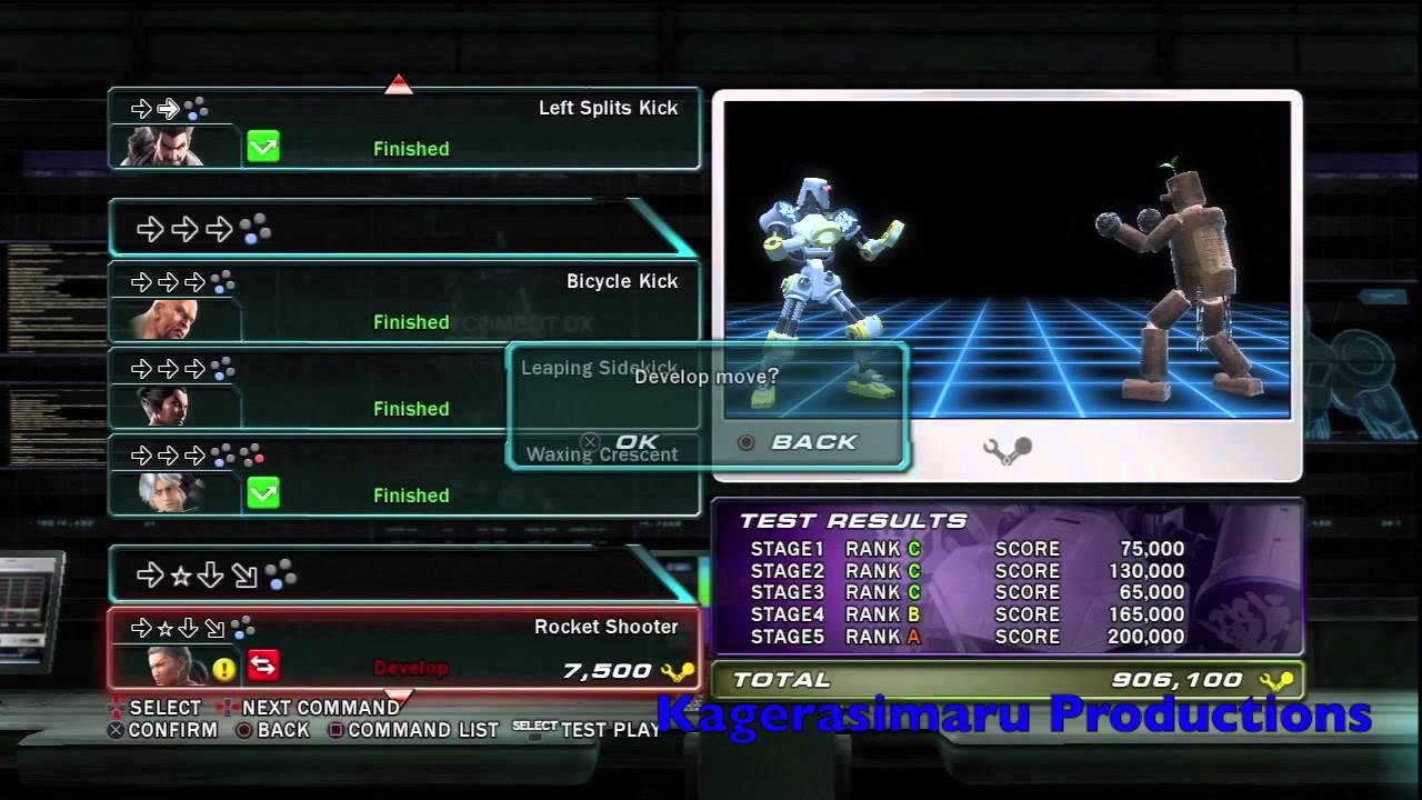 Tekken Tag Tournament 2 Trophy Guide Road Map