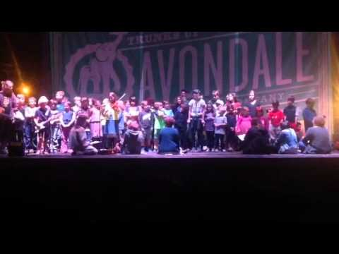 Red Mountain Community School Folks Song 2015.