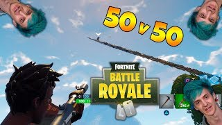 Fortnite 50vs50: El MEJOR MODO del juego. #6