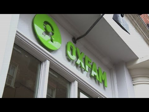 Business as usual at Oxfam shop in London despite Haiti scandal