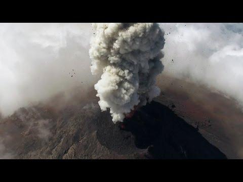 Drones help scientists study Guatemalan volcanoes