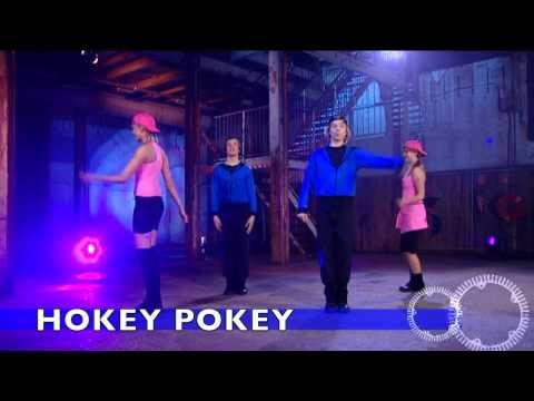 Hokey Pokey | children's songs | kids dance songs by Minidisco