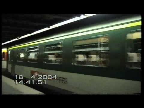 SBB Intercity Trains at Zurich Airport Station