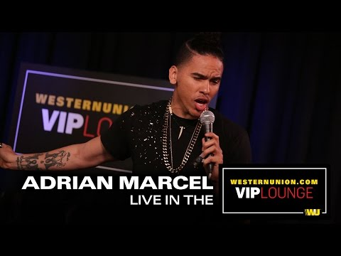 Adrian Marcel performs