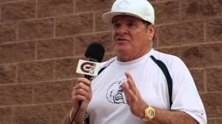 2015 Grizzlies Opening Night with Pete Rose