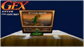 Gex 64: Enter The Gecko Nintendo 64 Gameplay Walkthrough Part 4 - Titanic!