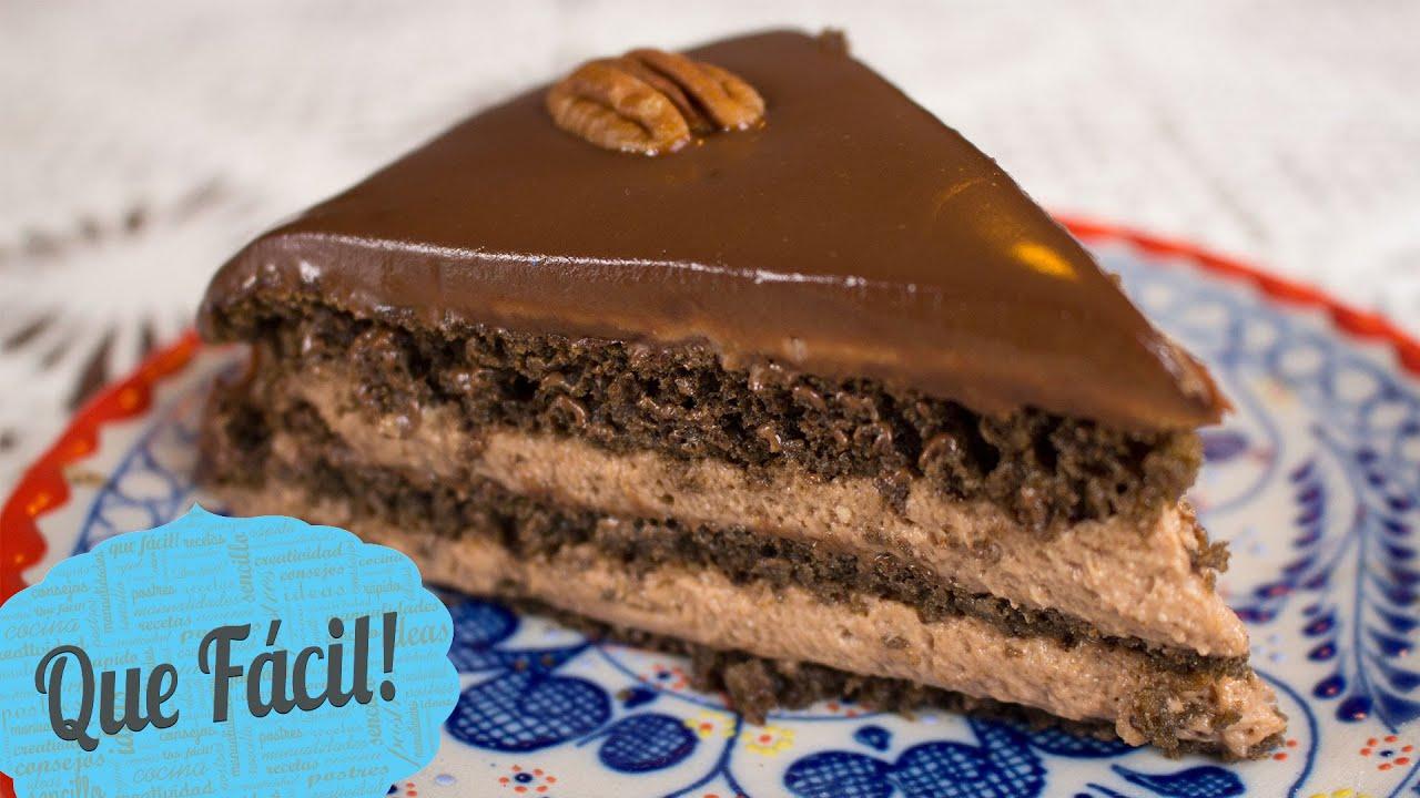 Pastel de chocolate sin horno que f cil youtube for Youtube videos de cocina