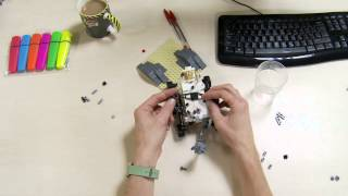 Mars Diffracts! - Curiosity Rover Lego Timelapse